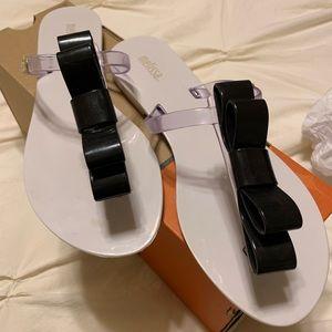 Melissa t-bar SP AD thong sandals